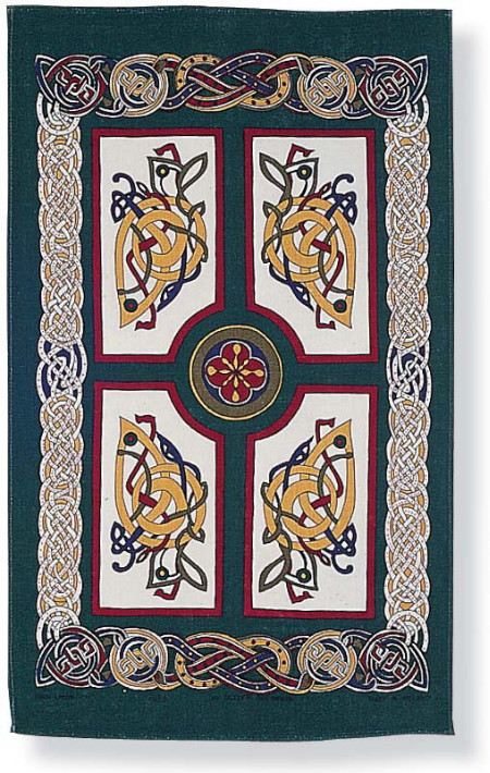 Celtic Celebrations Linen Tea Towel