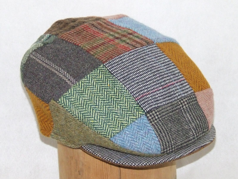 The Patchwork Tweed Cap