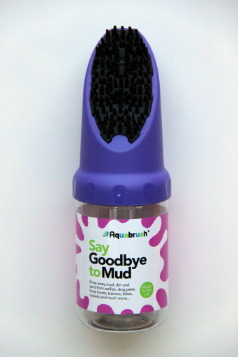 Aqua Brush Muddy Boot Cleaner- Purple
