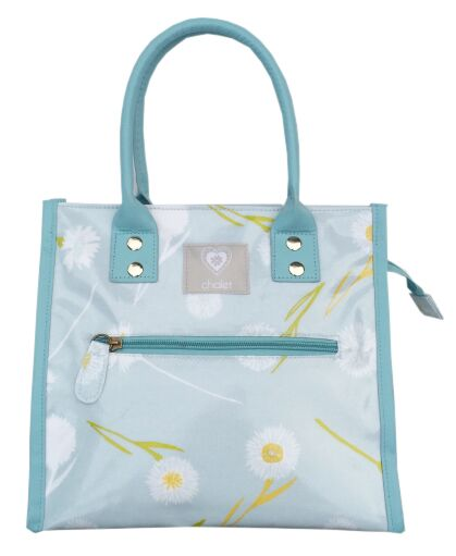 Cornflower Sky PVC City Bag