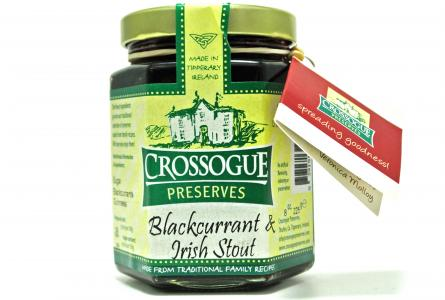 Crossogue Blackcurrant and Irish Stout 225g