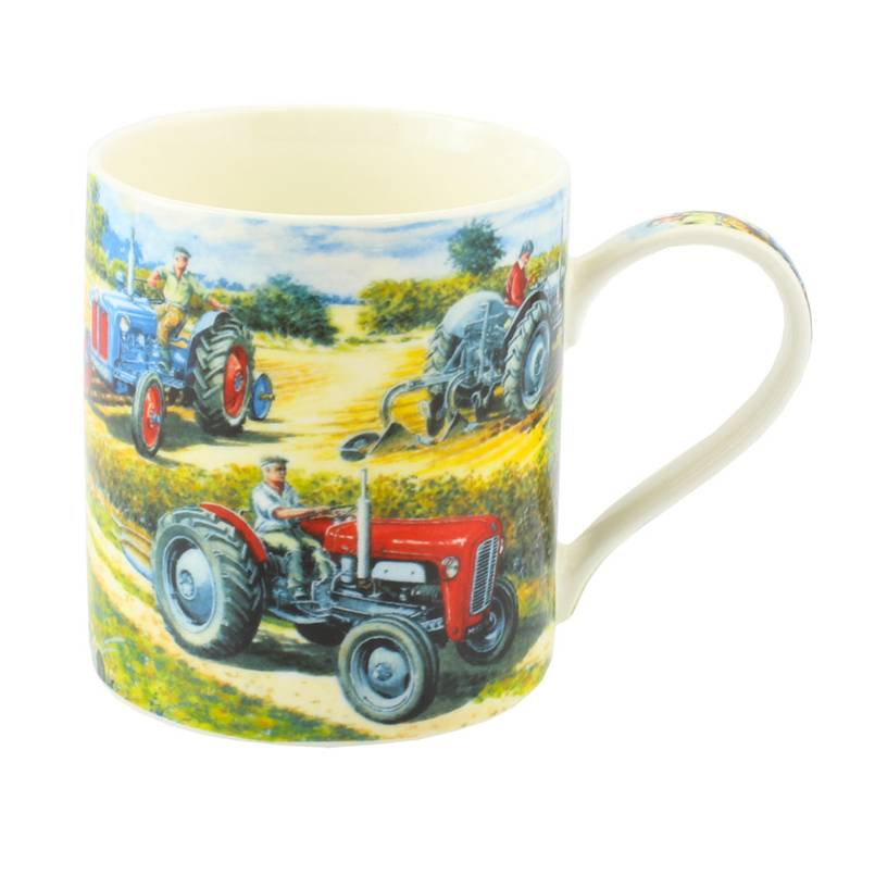 Dexter, Grey Fergie and MF35 Tractor Mug