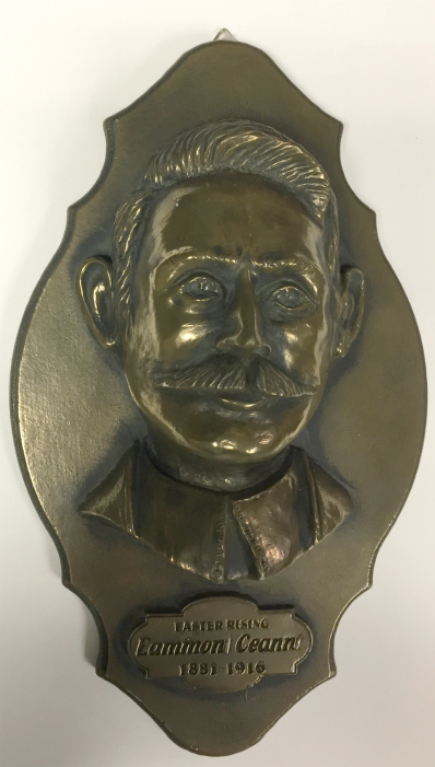 Eamon Ceannt Bronze Wall Plaque 24cm