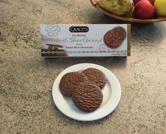 Grace's Irish Shortbread Coated in Milk Chocolate 170g