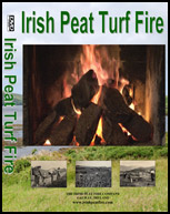 Irish Peat Turf Burning Fire DVD