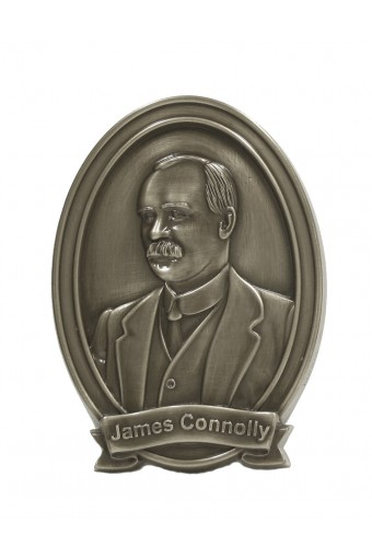 James Connolly Bronze Wall Plaque 15cm