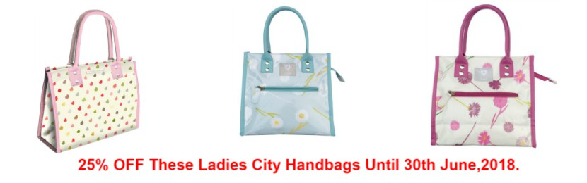 Ladies City Bags Offer