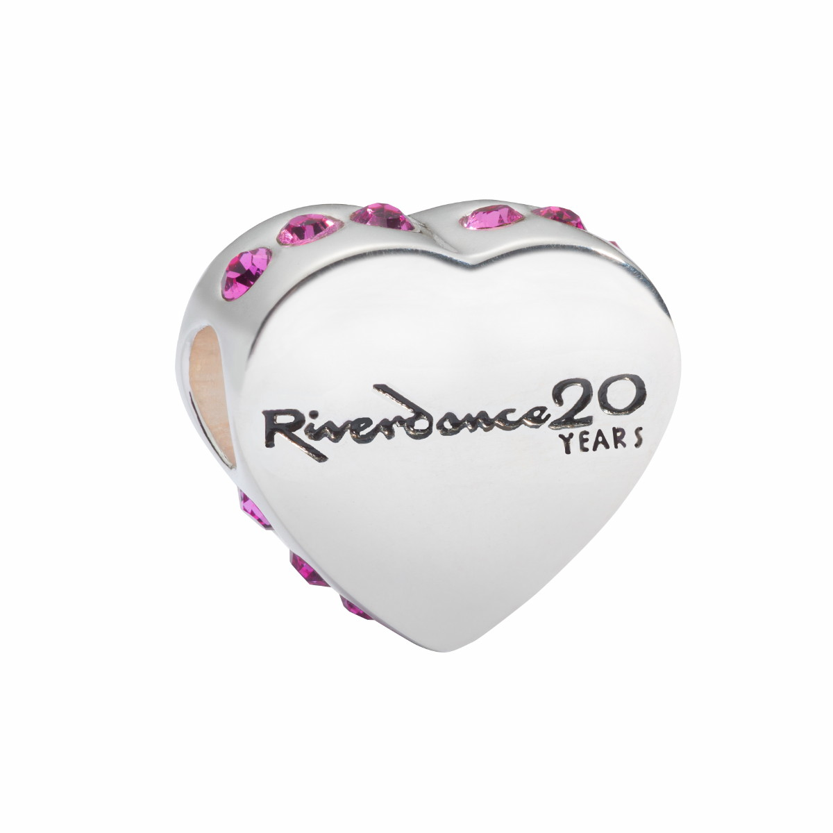 "Official Riverdance Jewellery Love ""Heart"" Shaped Bead"