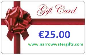 Narrow Water Gifts - Gift Card for €25