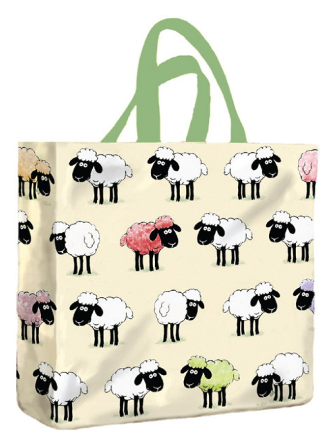 Sheepish PVC Mini Gusset Bag