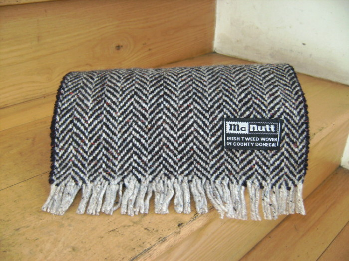 McNutt Turf & Cloud Herringbone Scarf