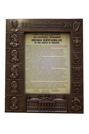 1916 Bronze Photo Frame 29.5cm