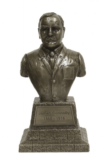 James Connolly Bronze Bust 19cm