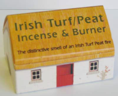 Turf Peat Incense Cottage Box