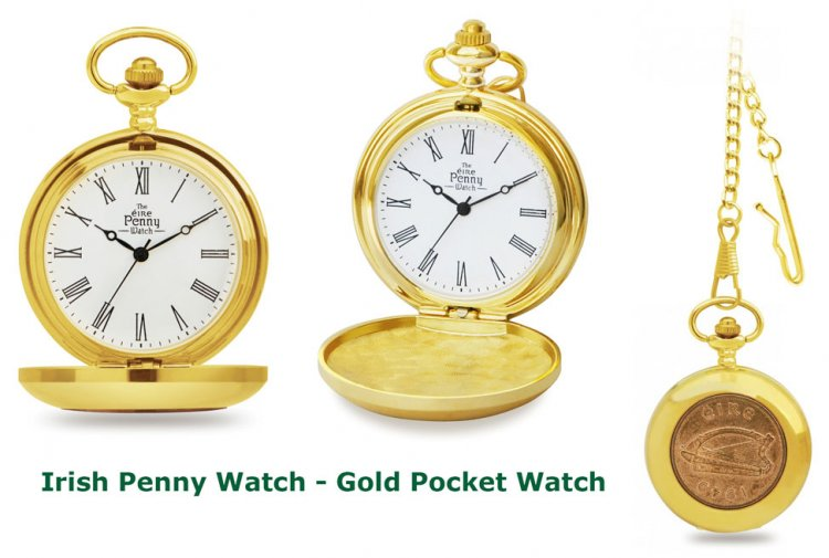 Irish Penny Watch from Narrowwatergifts.com